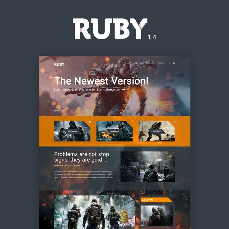 WordPress Blog Theme for Gamers, Designers, Youtubers, Reviewers & Other Creative Bloggers.