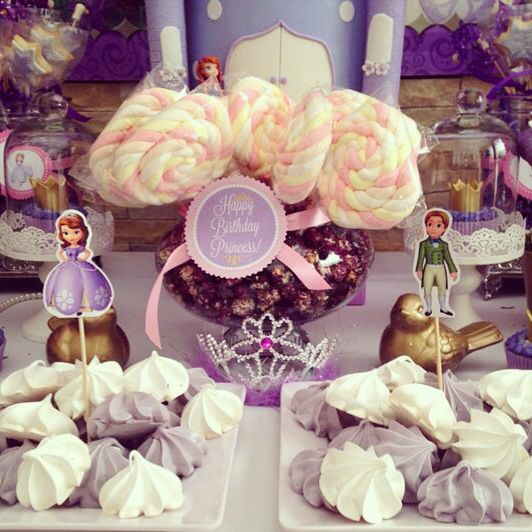 Princess and princely treats for all the guests