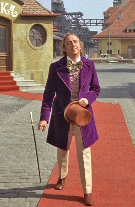 Gene Wilders ideas about his costume for Willie Wonka and the Chocolate Factory.