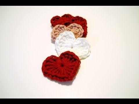 Crochet Magic Hearts: Beginner Friendly video Tutorial and free pattern.