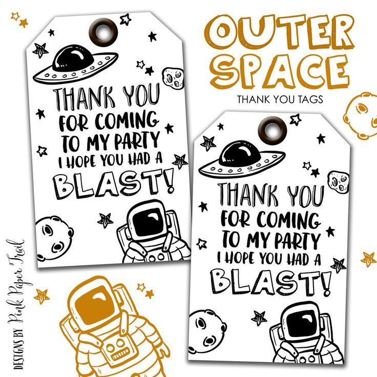 Outer Space Space Ship Astronaut Alien Party Thank You Tags Favor Tags, Out of this World Party Tags, Printable Thank You Tags by PinkPaperTrail on Etsy https://www.etsy.com/listing/520275785/outer-space-space-ship-astronaut-alien