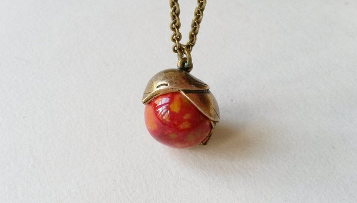 Vintage Kalevala Koru Tintti Bird Bronze Necklace / Pendant with Chain, Finland (F378) by LifeUpNorth on Etsy