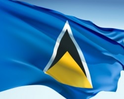 National Flag of St. Lucia