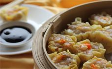 Dim sims or sui mai, as they're also called, are delicious bundles of steamed pork and prawn deliciousness. Steam a basketful and surprise your family.
