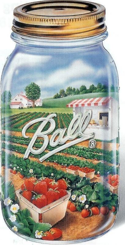 58 best Mason Jars ~ Ball Jars images on Pinterest   Mason jars ...