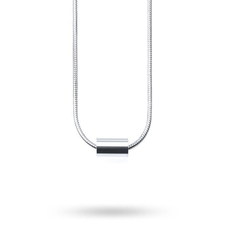 Tube halsband, silver från designlenaw
