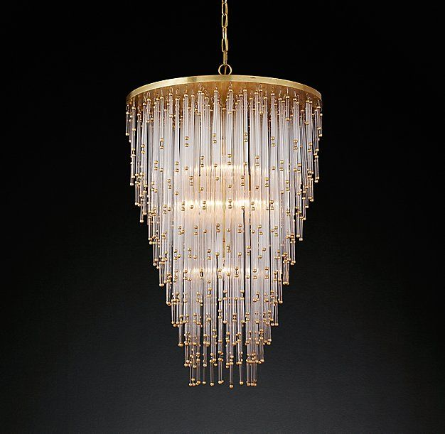 """Currey And Company Stratosphere: Luciano Chandelier 24"""" Is As Large As It Comes"""