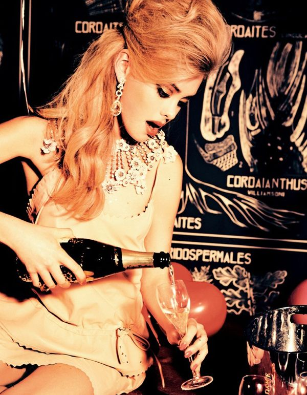 """Party Dolls"" Josephine Skriver by Ellen Von Unwerth #proshopaholic"