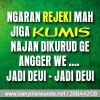 DP BBM Banyolan Sunda: Rejeki = Kumis