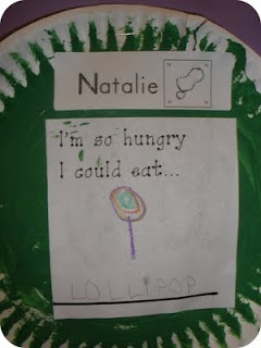 To go with the Very Hungry Caterpillar story!