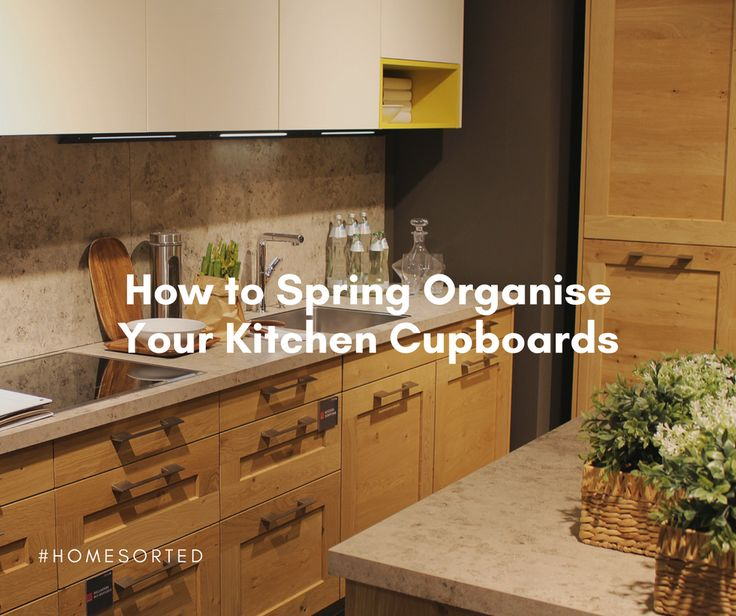 We're back with yet another dose of spring organising tips – this time we're getting your kitchen cupboards sorted! So, sit back, make yourself a cup of tea and keep reading for our step by step guide. Step 1 – Remove everything In order to do any kind of organising you need to first remove …