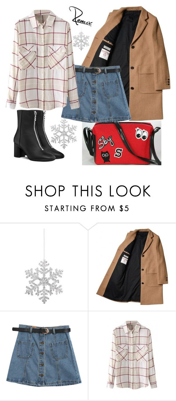 """Holidays are coming"" by aleva on Polyvore featuring Shishi, Chicnova Fashion and WithChic"
