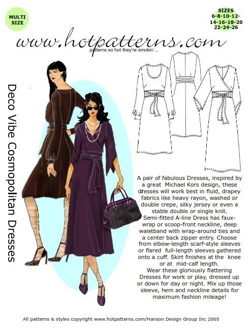 fashion sewing patterns