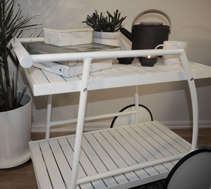 DIY. Malt trillebord fra Ikea.