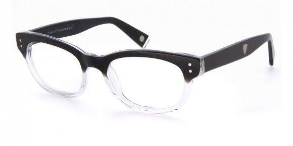 Foncité Rubik Black - Mens Prescription Glasses #eyewear #eyeglasses