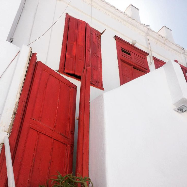 Greek Architecture in Mykonos
