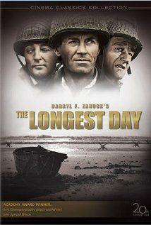 The Longest Day (1962) - Starring  John Wayne, Robert Ryan, Richard Burton, Sean Connery and Henry Fonda