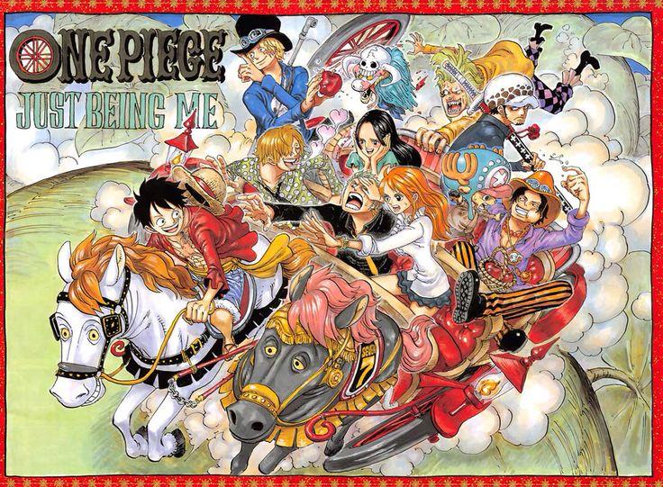 One piece poster by Eiichiro Oda
