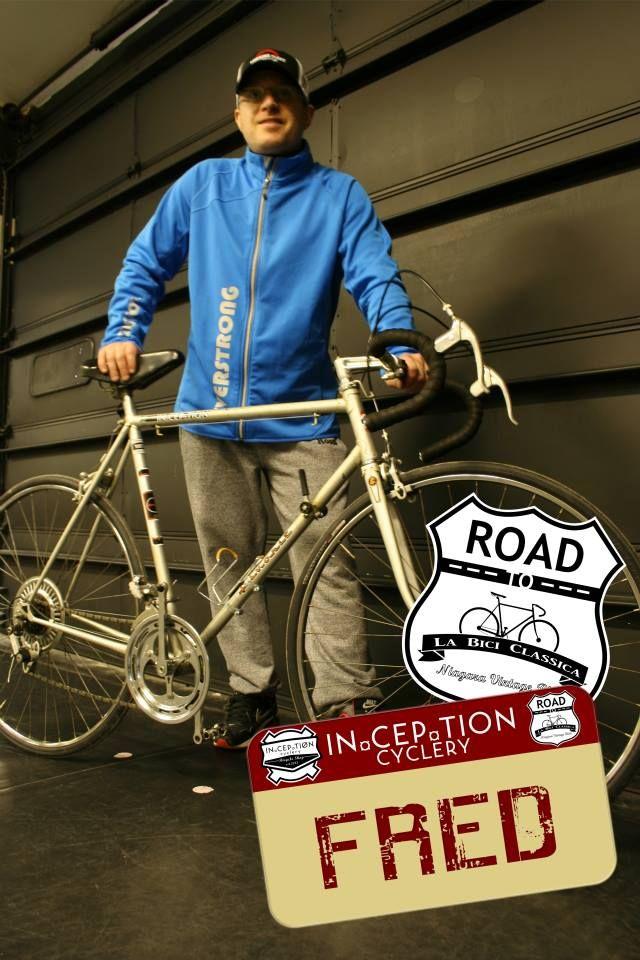 Quentin's La Bici Classica bike has a name: FRED