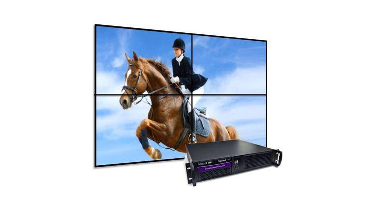 Signwall pro 4k videowall y reproductor multimedia de video