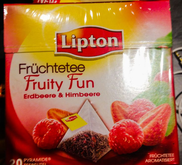 tè aromatizzato alla fragola&lampone