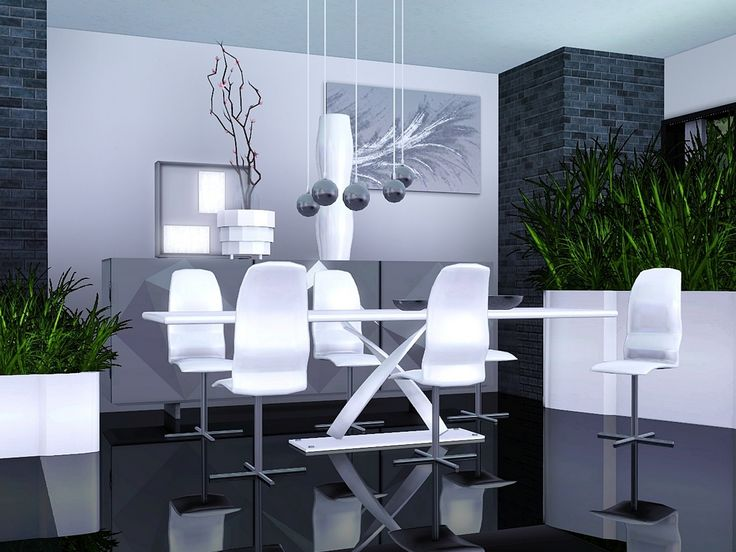 Lucy Dining Room by Flowarin