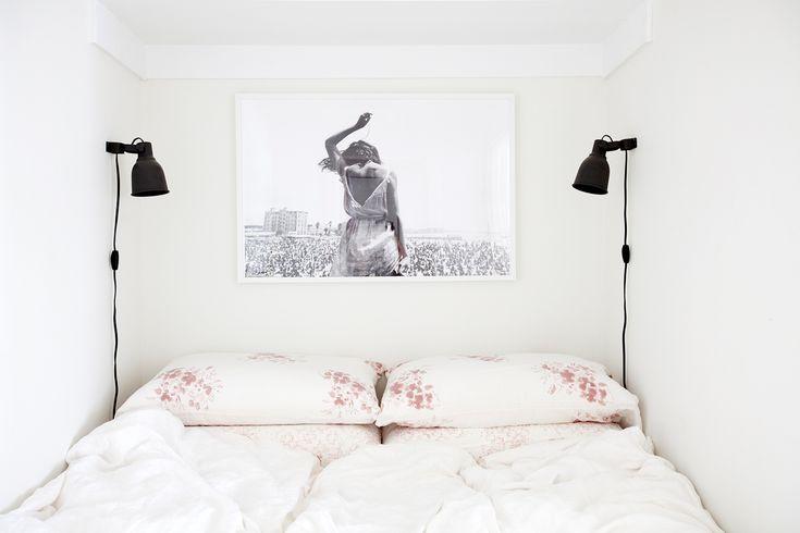 A bed in a closet - Erin Chow's Bright White Alcove Studio in Vancouver | Rue