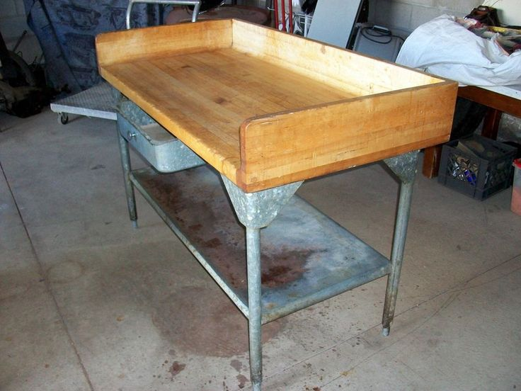Refinishing Butcher Block Kitchen Table : 60