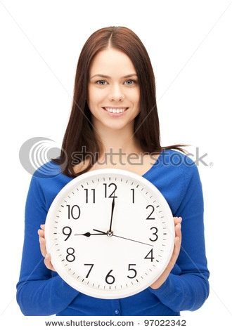 Keep the amount of time you spend on a project in proportion to the project's importance. www.bluepencilinstitute.com: Clock