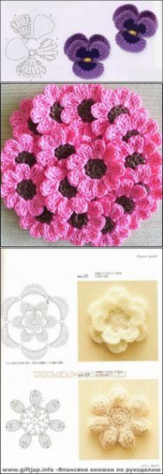 Моей Вселенной: все виды вязания крючком цветы