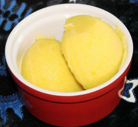 Frozen Peach Yogurt - Made In A Food Processor! Recipe - Food.com