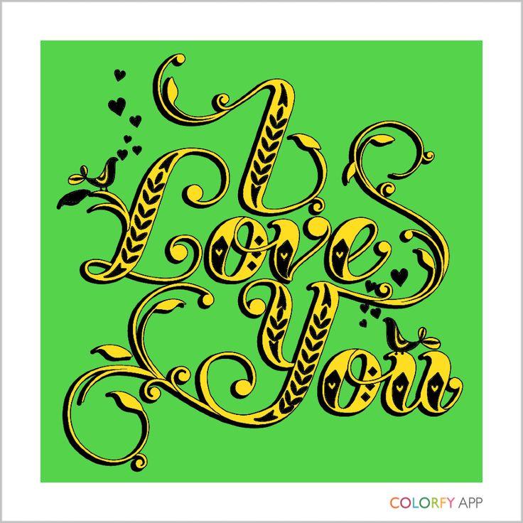 #love #colorfy
