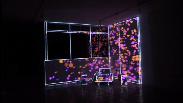 Video Mapping   Indoor Demo by iMotional