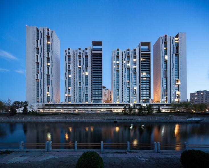Andersen Garden Housing Complex, Beijing, 2009 - schmidt hammer lassen architects