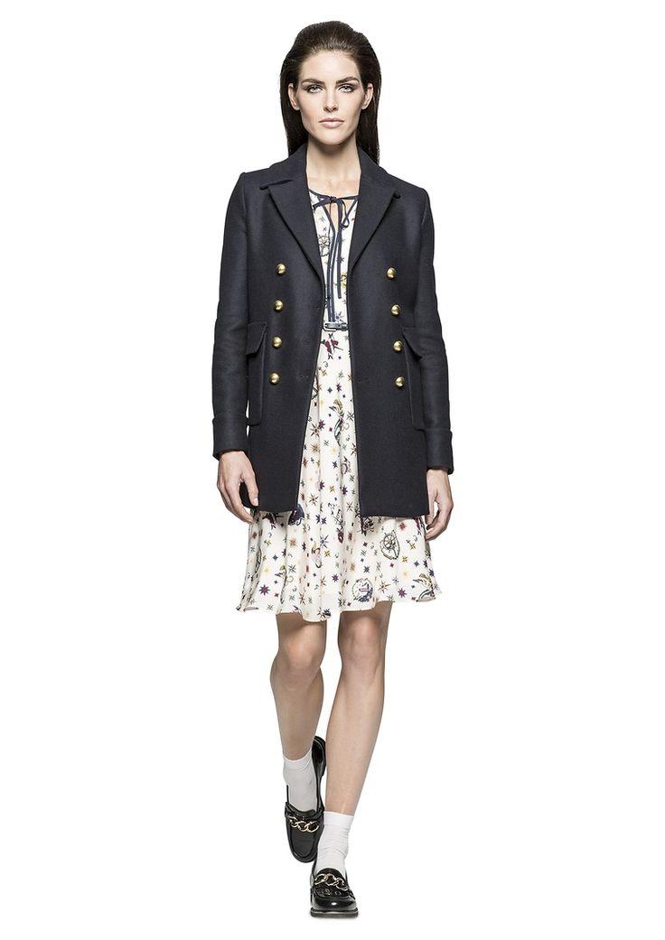 Royal MARINE| Marine Look |  Lady | womenswear | Fashion | premium | dress | coat | PKZ |  buy here --> http://goo.gl/QjlDbG