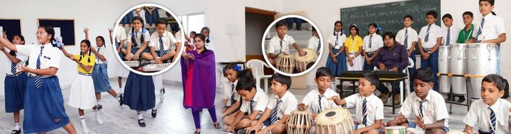 Overall Personality Development: OCS Rajsamand Kids Learning Dance and Music....