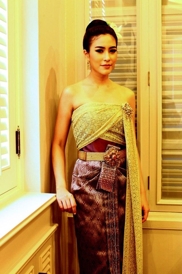 Thai dress.