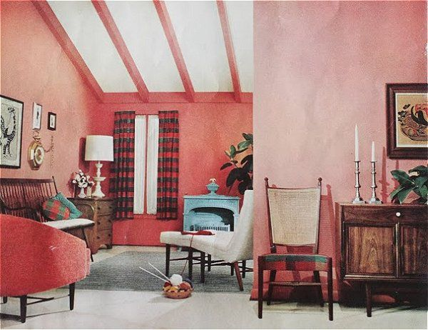 belljarsf.com  A Look at Authentic Mid Century Modern (1959) Home Decor + Silliness