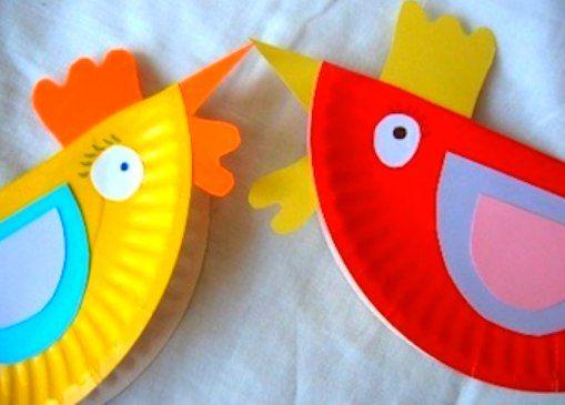 Полезные советы » Полезные советы как сделать поделки из бумажных и пластиковых тарелок.