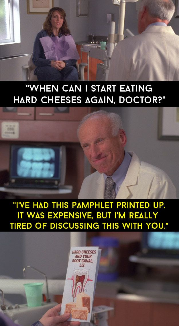 """And after her root canal treatment. 