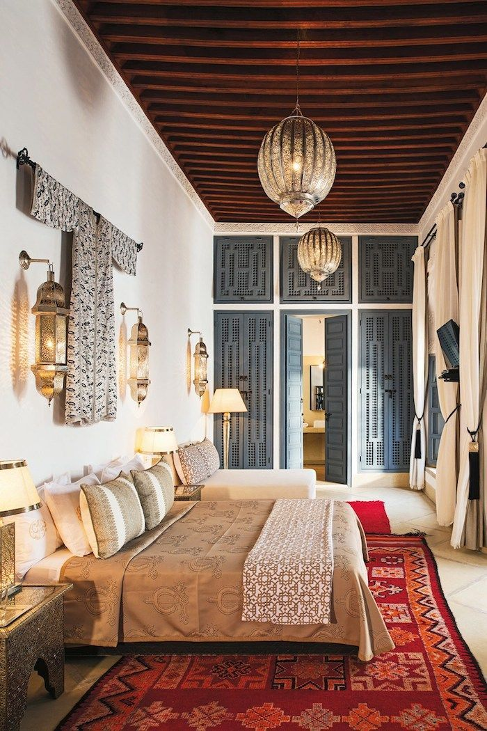 Modern global style at Riad Adore, Marrakech