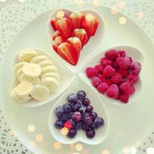 Mixed berries n banana