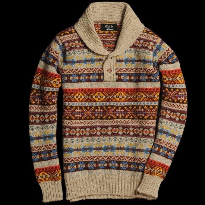 64 best Fair isle knitting images on Pinterest | Tricot crochet ...