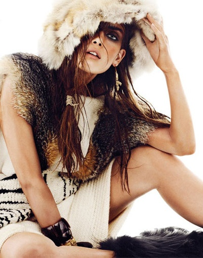 """Maria Palm in """"Nomad"""" Photographed By Alvaro Beamud Cortes &Styled By Cristina Perez-Hernando For S Moda, January 2013"""