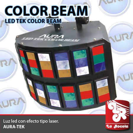 LUZ LED / TEK-COLORBEAM