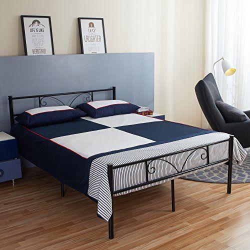 Aingoo Metal Double Bed 4ft 6 Bed Frame Solid Bedstead Ba... https://www.amazon.co.uk/dp/B01N0HJ9PB/ref=cm_sw_r_pi_dp_x_Pqndzb147HRAS