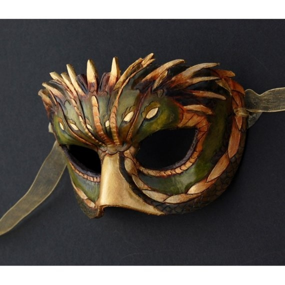 cool leather mask