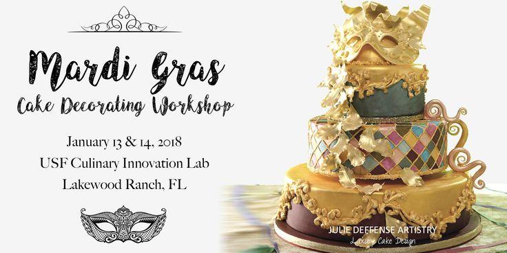 Festive Mardi Gras Cake Decorating Workshop Mardi Gras Cake Decorating Workshop