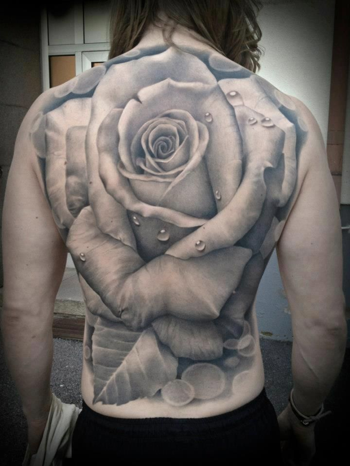 25 best black and grey realistic rose tattoo images on pinterest go back gallery for realistic black and grey rose tattoo urmus Choice Image