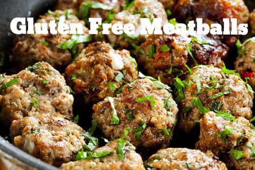 Gluten Free Meatballs - GAPS friendly and delicious!